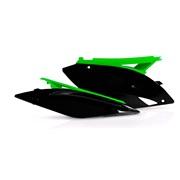 Sidenummerplader sort/grøn, KX250F 09-12