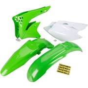 Plastikkit grøn Acerbis, KX450F 06-08