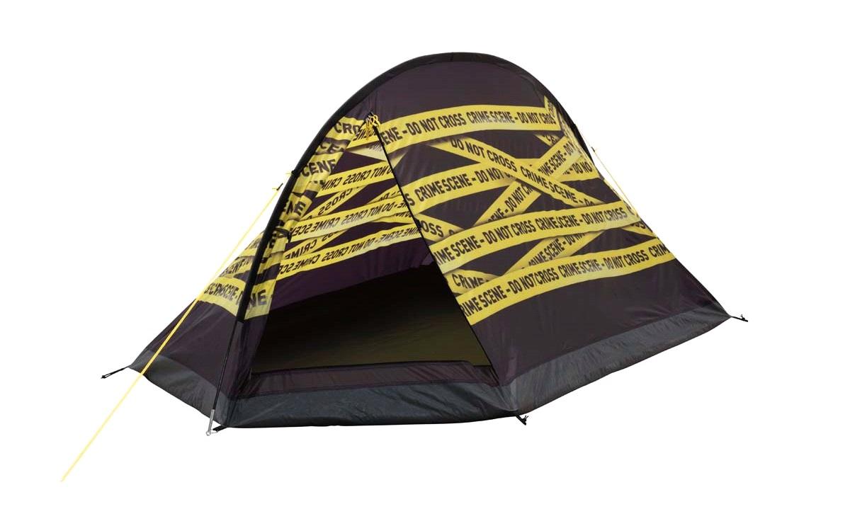 Telt, Easy Camp, Image Crime Scene