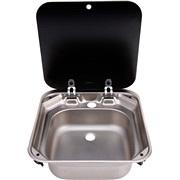 Køkkenvask m/glaslåg DOMETIC SMEV VA8006