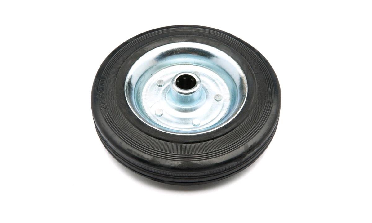 Reservehjul for næsehjul, massiv gummi