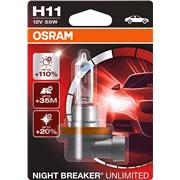 Pære H11 12V-55W Nightbreaker Unlimited