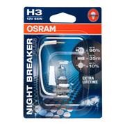Pære H3 12V-55W Nightbreaker Plus Osram