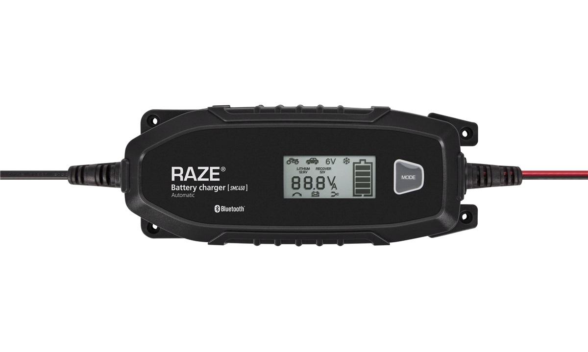 RAZE SMC450 SMART APP Batterilader 4A