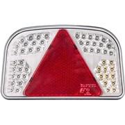 Trailerlygte LED med trekantrefleks V