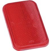 Refleks rød 90x50 mm med tape