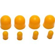 Pæreovertræk gul, 4 stk T5 4 stk T10