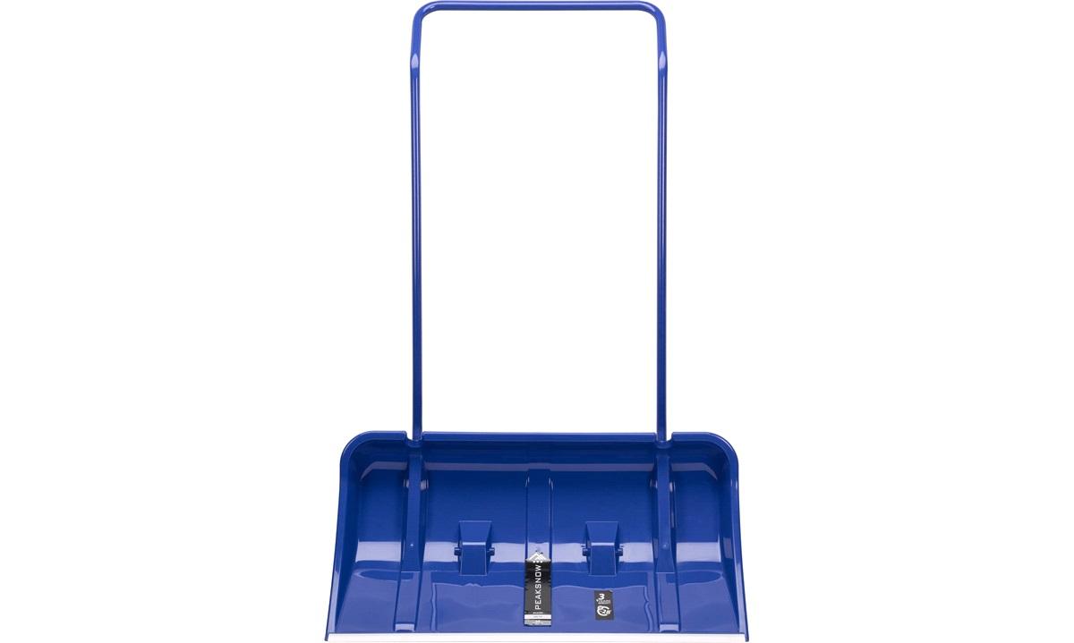 Sneskraber,blå m/hjul 800x115x440/1270mm