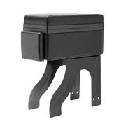 Midterarmlænbox i læder m/kopholder
