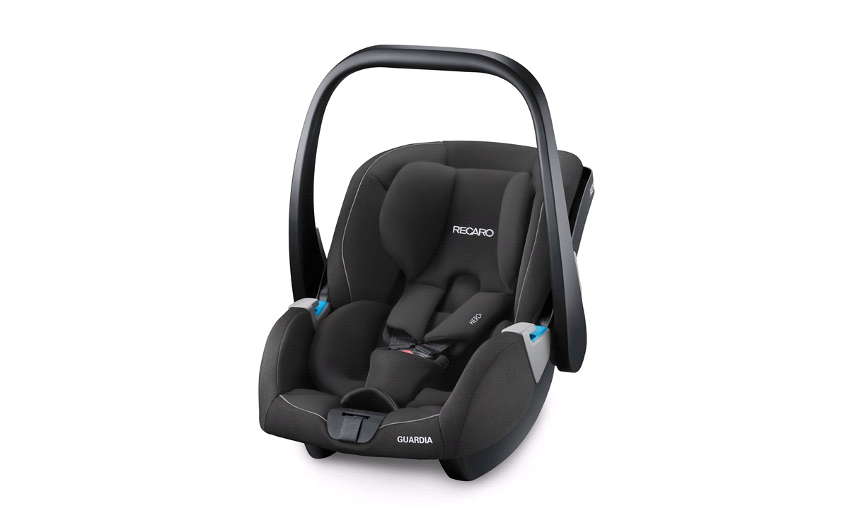 Autostol Recaro Guardia gr. 0+ Performance Black