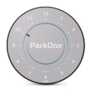 Elektronisk P-skive ParkOne 2 Space Grey