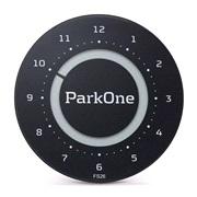 Elektronisk P-skive ParkOne 2 Carbon BK