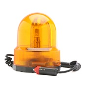 Roterende advarselslys, orange, 12V