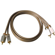 Phonokabel sæt, Brown High END RCA, 5M