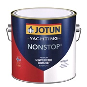JOTUN Bundmaling,Non-stop sort 2,5ltr