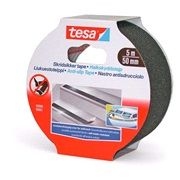 TESA, Skridsikker tape, sort,50mm x 5mtr