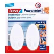 TESA, Knage, hvid, small, Oval