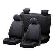 Sædebetræk, black/blue 8-dele sideairbag