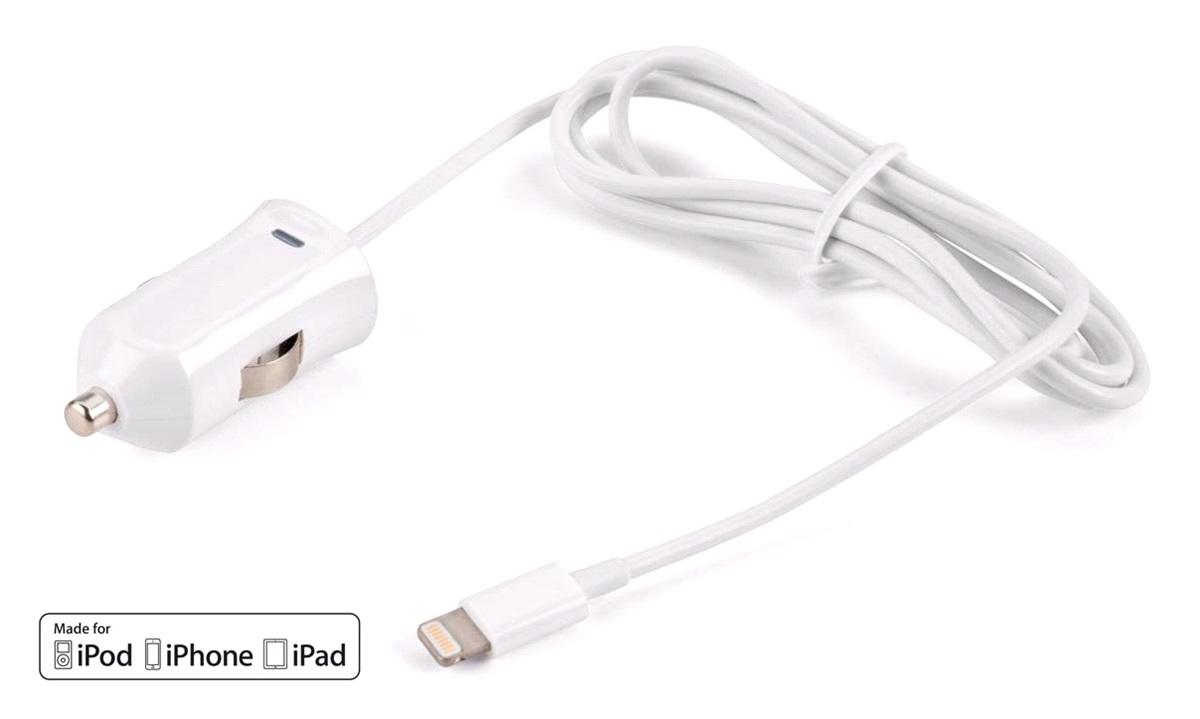 12/24V autolader 2,1A iPhone Lightning