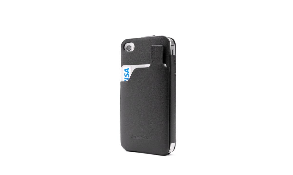 Læderetui Slim Card iPhone 4/4s