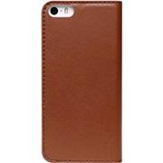 Læderetui brown diary iPhone 5/5S