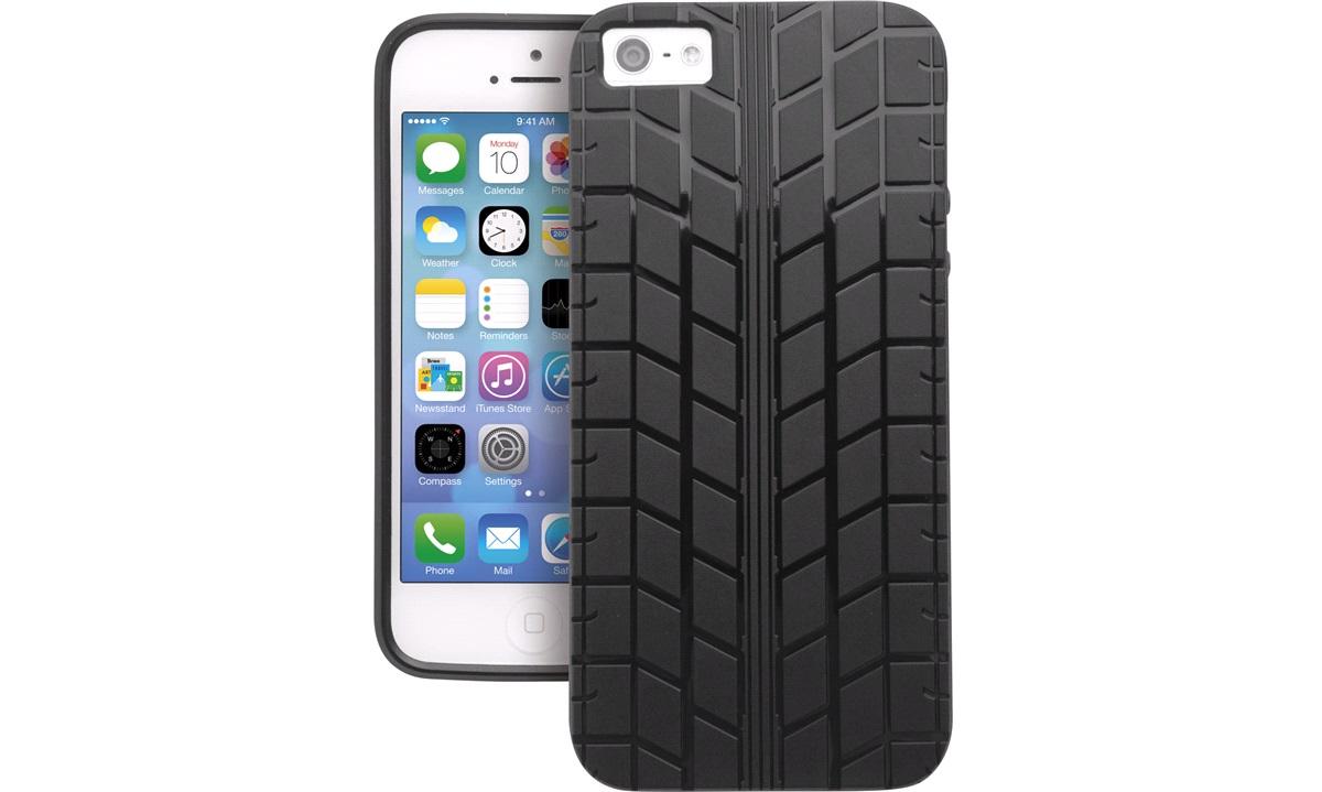 TPU cover sort dæk iPhone 5/5S/SE