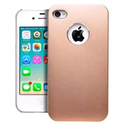 Cover alu gold iPhone 4/4S