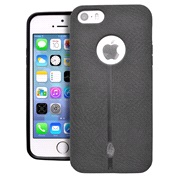 Cover Nubuck look black iPhone 5/5S