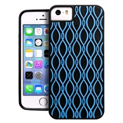 Cover 3D rubber blue iPhone 5/5S