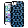 Cover 3D rubber blue iPhone 5/5S/SE