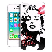 TPU cover Marilyn iPhone 4/4S