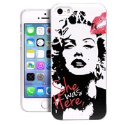 TPU cover Marilyn iPhone 5/5S/SE