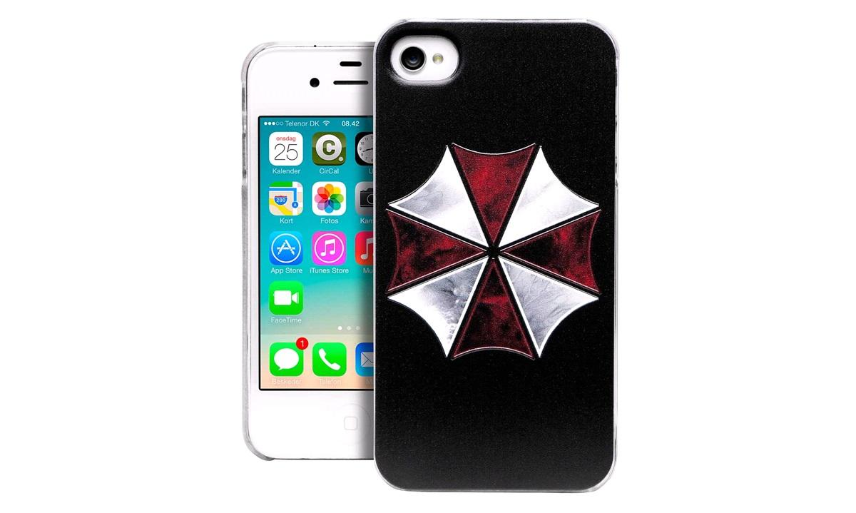 TPU cover Umbrella iPhone 4/4S