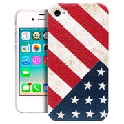 TPU cover US Flag iPhone 4/4S