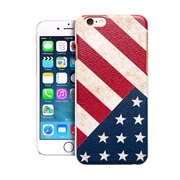 TPU Cover US Flag iPhone 6/6S