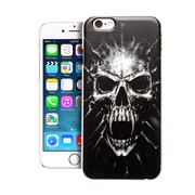 TPU Cover SKULL iPhone 5/5S/SE