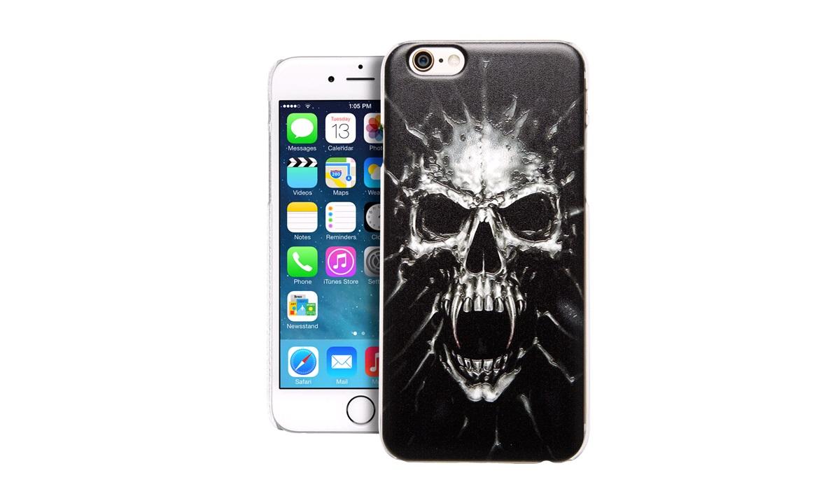 TPU Cover SKULL iPhone 4/4S