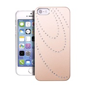 Cover Golden with rhinestone iPhone 5/5S