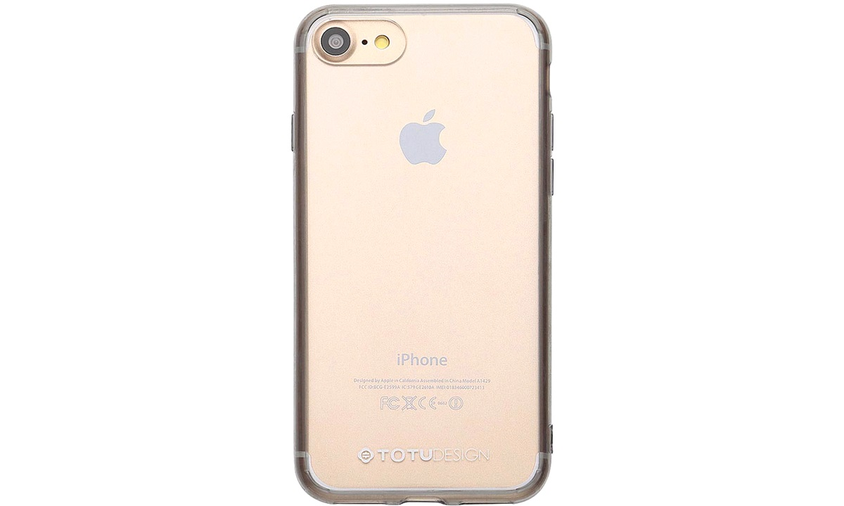 Cover Fairy transparent black iPhone 7/8