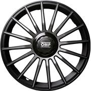 """Hjulkapsler 4 stk. 13"""" OMP Black/grey"""
