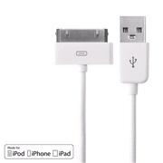 USB kabel til iPod/iPhone/iPad