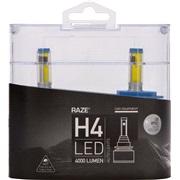 LED pæresæt H4 6500K 15-20W 4000LM