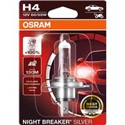 64193NBS pære NB Silver +100 H4 Osram