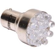 Pære Multi LED (P21W) BA15s white