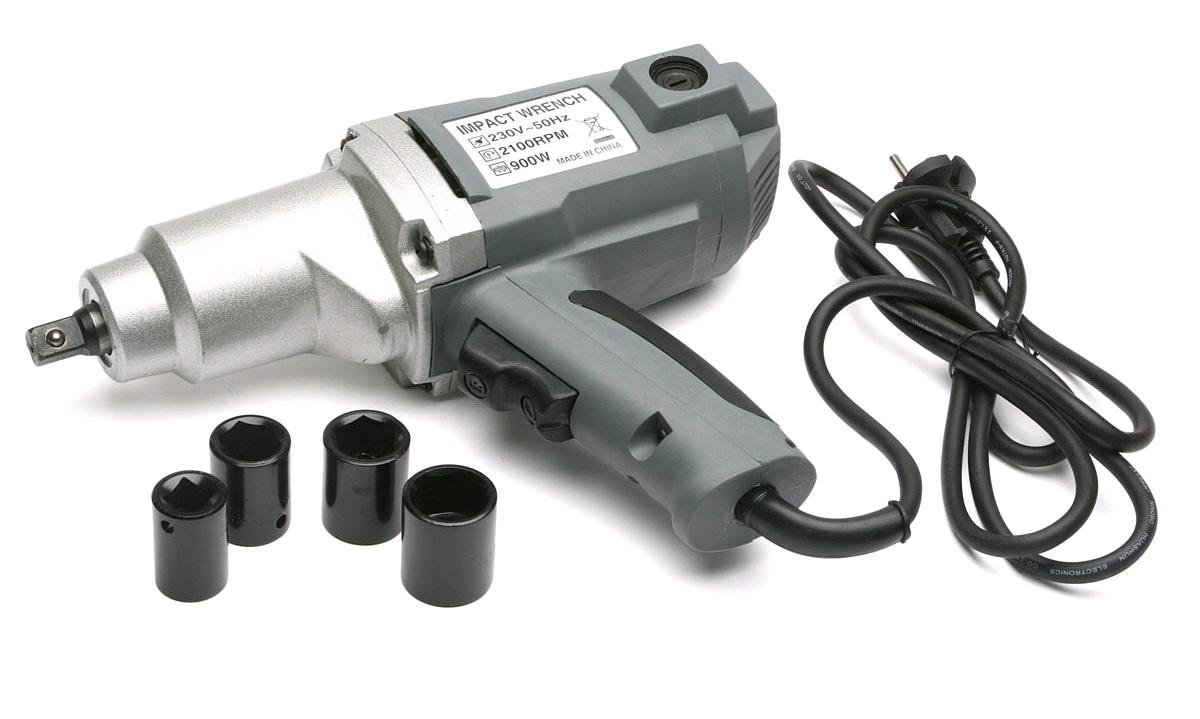 """Slagnøgle 1/2"""" 230V 900W"""