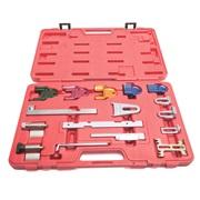 Knastaksel og krumtap værktøj 16 stk.
