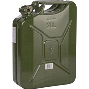 Jerry Can 20 liter benzindunk