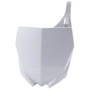 Fornummerplade hvid Acerbis, YZ125 15<