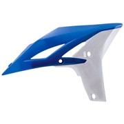 Kølerskjolde blå/hvid, YZ250F 10-13