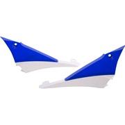 Kølerskjolde bag blå/hvid, YZ450F 10-13